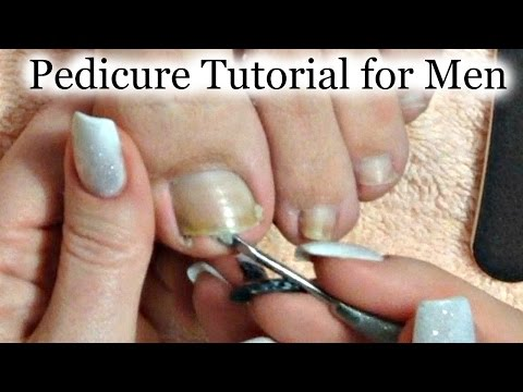 👣 Express Pedicure Tutorial for Men and Diabetic Pedicure Ti
