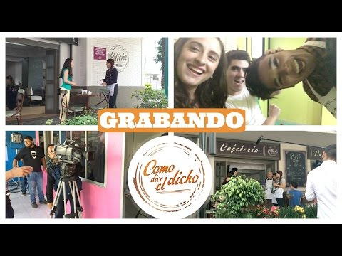 GRABANDO COMO DICE EL DICHO!!
