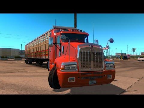 ATS Kenworth T600 en México! De Ensenada a Guerrero Negro | Baja California American Truck Simulator
