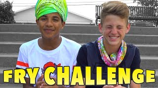 The French Fry Challenge!  (MattyBRaps vs Justin)