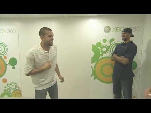 Xbox Project Natal : Jordan Farmar and Josh Shipp