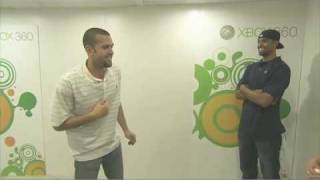 Xbox Project Natal : Jordan Farmar and Josh Shipp