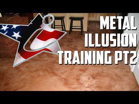 Metal Illusion Flooring Training (Part 2)