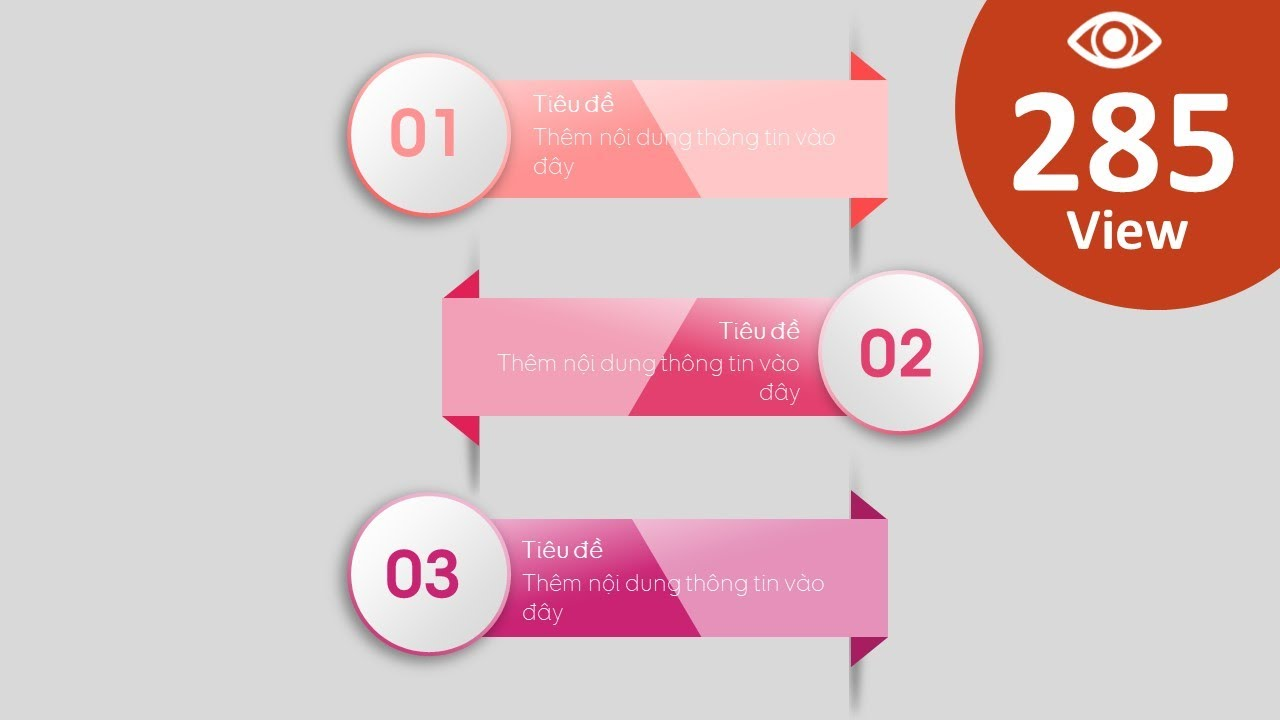 Thiết kế Infographics 3 bước trong Powerpoint | Trường học PowerPoint