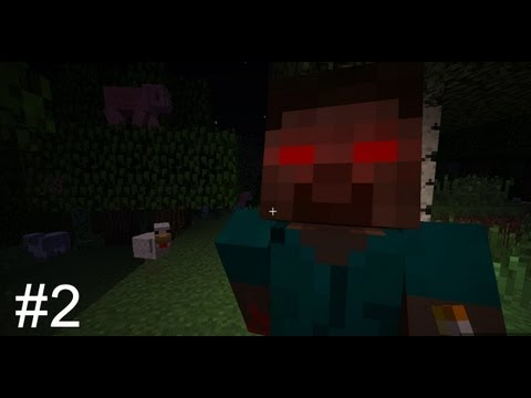 Minecraft: Survival with Herobrine #2