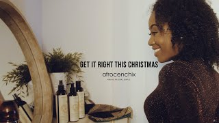 Get it right this Christmas with Afrocenchix