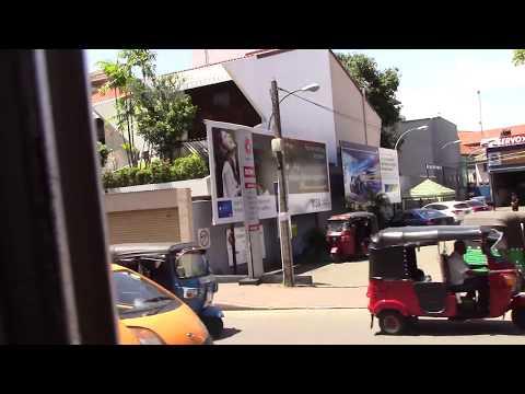 Bus ride from Colombo to Kaduella, Sri Lanka