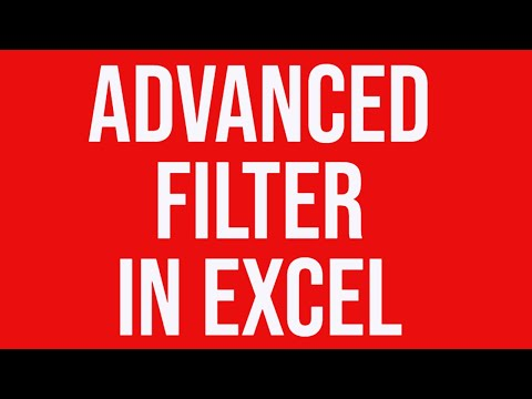 how to use the filter feature in excel