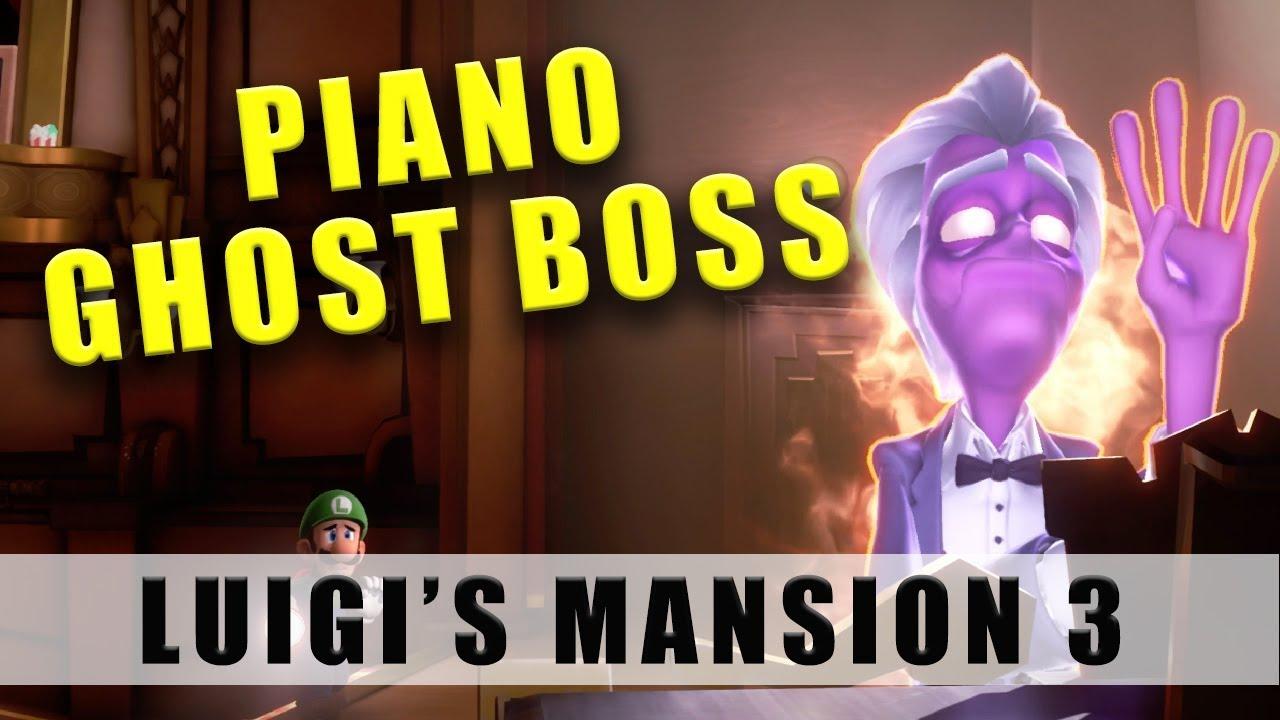 Luigi S Mansion 3 Piano Ghost Boss Floor F4 Boss