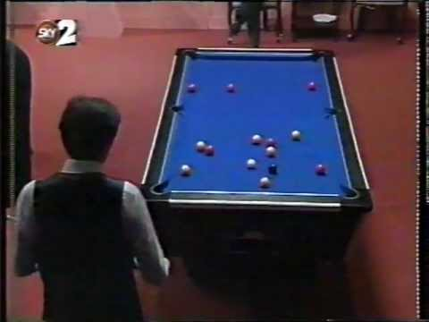 1994 Embassy World 8 ball pool final - Scotland V England pt 1