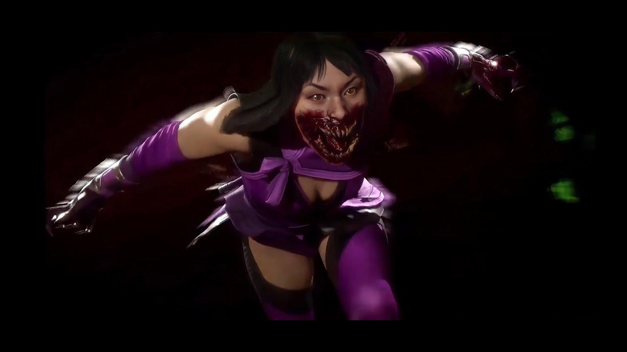 Mortal Kombat 11: Mileena All Unlockable Taunts Showcase