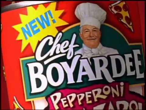Chef Boyardee Boy Oh Boy