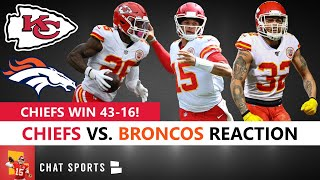 Chiefs news & rumors cover the vs. broncos nfl week 7 game in which kansas city won 44-16. patrick mahomes had a pretty ordinary day as he threw for 200 yards and touchdown on 15/23 throwing. ...