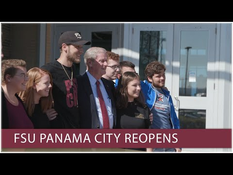 FSU Panama City students, faculty thrilled as campus reopens