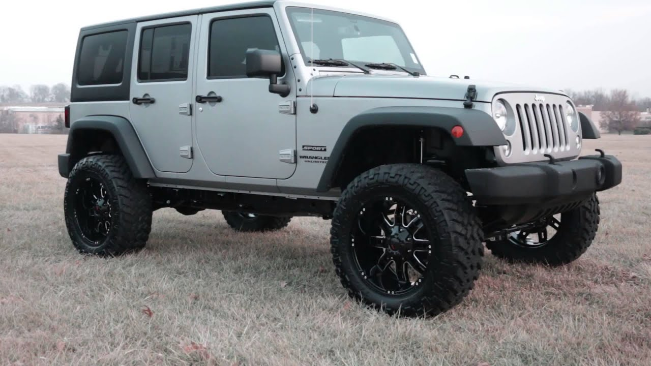jeep wrangler silver custom kansas area