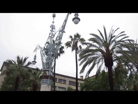 Триумфальная арка.Барселона