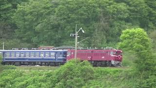 急行津軽 ED75-767 鶴形〜東能代 2019 0518