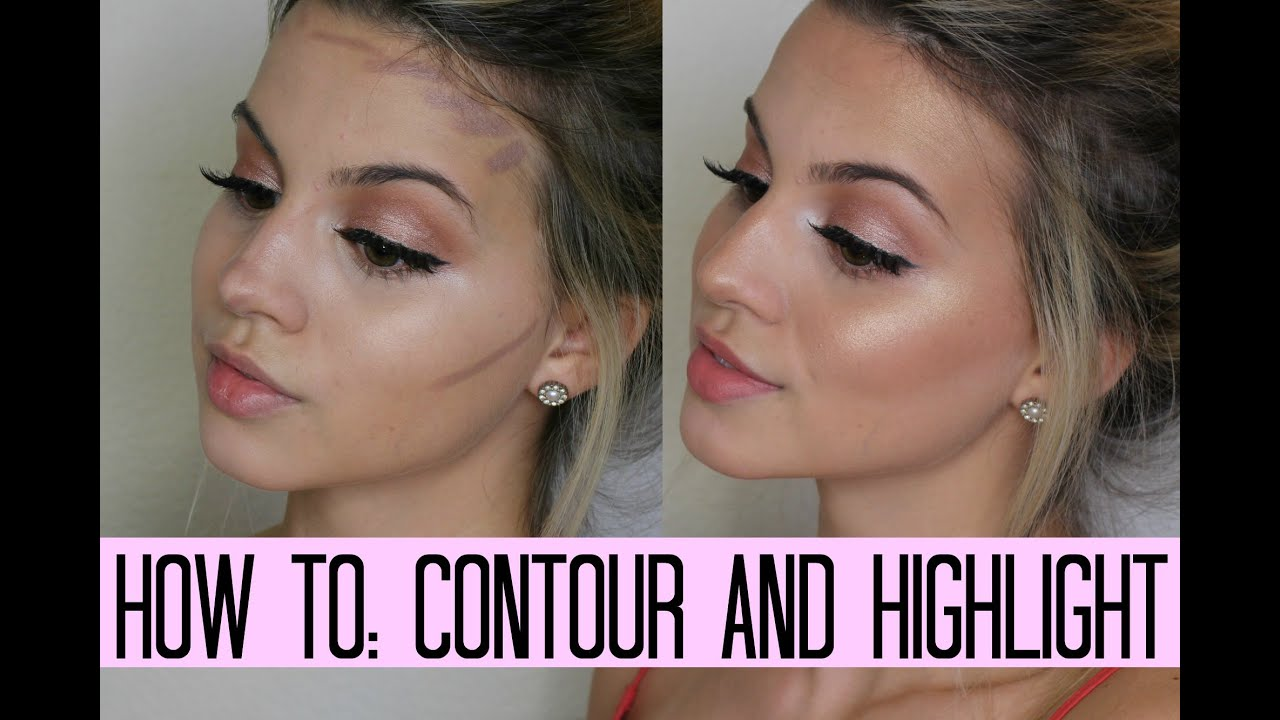 How to Contour & Highlight | STEP BY STEP FOR BEGINNERS - YouTube
