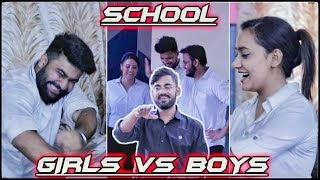 Boys Vs. Girls School Ki Life | Student Vs. Teacher | ROB's