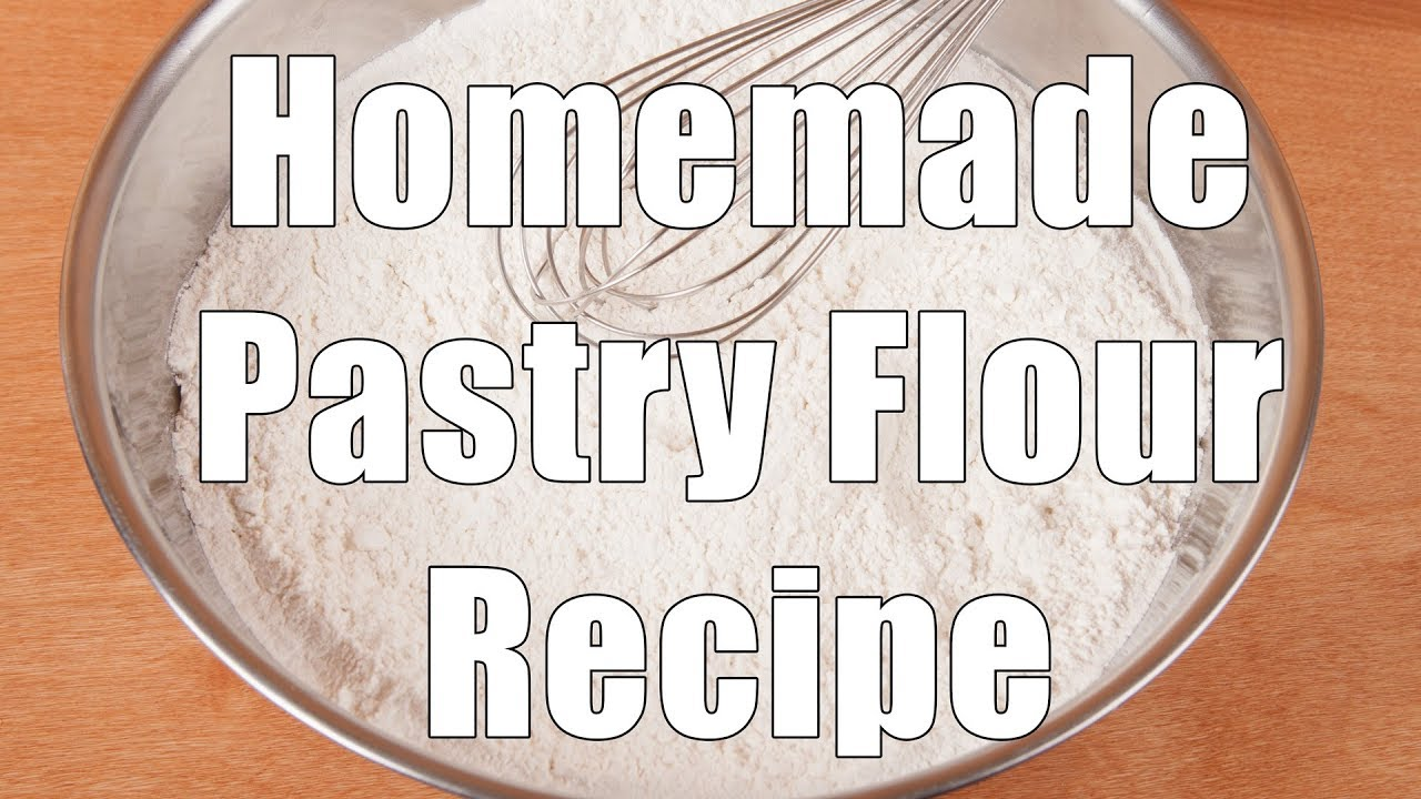 How to make Pastry Flour using Allpurpose and Cake flour YouTube