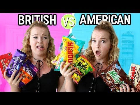 BRITISH VS. AMERICAN CANDY!