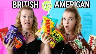 BRITISH VS. AMERICAN CANDY! Video