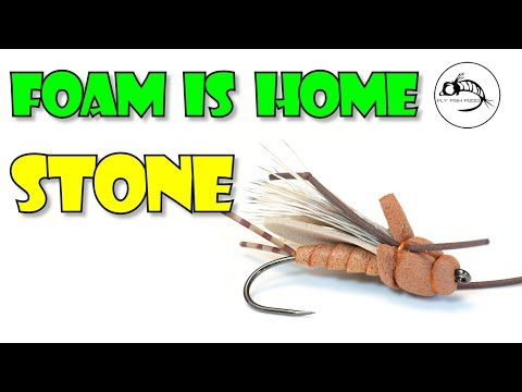 Foam Is Home Stone -- WICKED STONEFLY