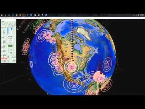01/07/2016 -- Heavy Earthquake activity across West Coast + Midwest USA --