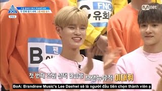 Video [VIETSUB] Daehwi chọn Avengers Team: Boy In Luv | Produce 101 Ep 3 download MP3, 3GP, MP4, WEBM, AVI, FLV November 2017