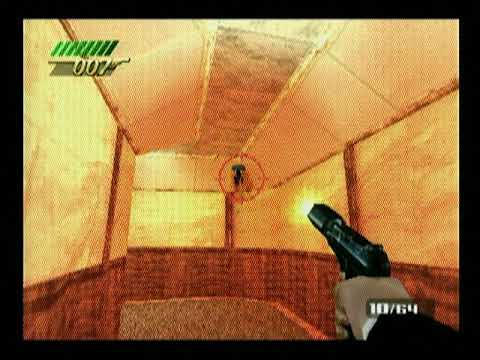 007 The World Is Not Enough Ps1 On Ps3 Gameplay Youtube