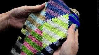 How To Knit Intarsia Knitting Part 1 - K1p1 Tv