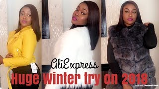 HUGE WINTER 2018 ALIEXPRESS TRY ON HAUL