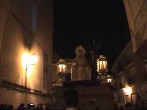 Merced y Pasión Elche 2008 - Pasa la Virgen el Refugio