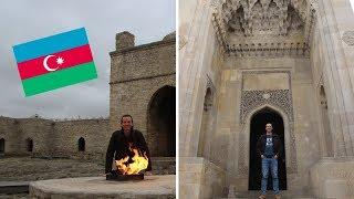 🔥 La vieja BAKÚ y el templo de FUEGO SAGRADO de Ateshgah | AZERBAIYÁN #2 🇦🇿