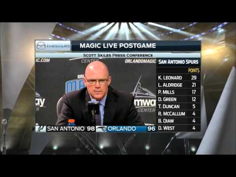 Scott Skiles -- Orlando Magic vs. San Antonio Spurs postgame 2/10/16