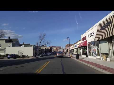 Driving from Rockville Centre to Malverne in Nassau,New York