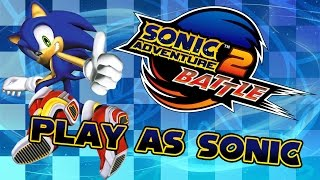 Sonic Adventure 2 Battle - Weapons Bed as Sonic