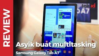 Samsung Galaxy Tab A7: Asyik buat multitasking