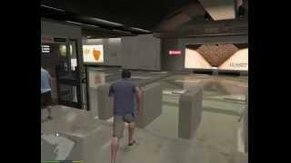 Метро GTA V на PC [Grand Theft Auto V] ГТА 5 – Поездка в метро GTA 5 на ПК