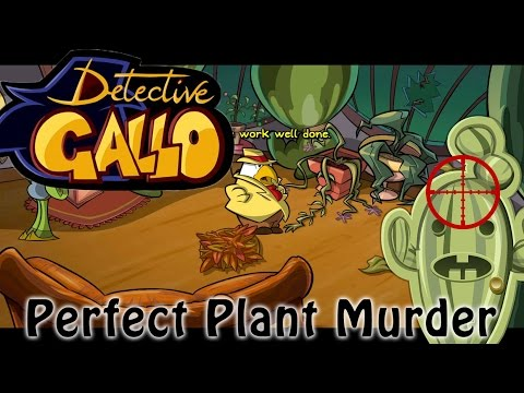 Detective Gallo - The Perfect Plant Murder (Alpha Gameplay)