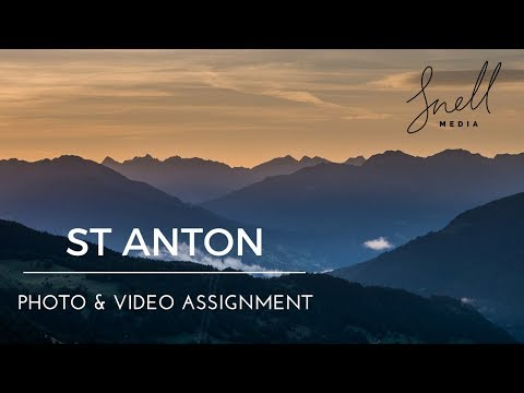 St Anton Austria TRAVEL PHOTOGRAPHY assignment on location