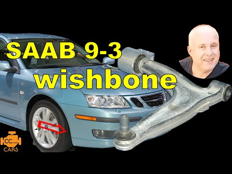 Saab 9-3 Front Wishbone Replacement | Front End Clunking Noise When Going over bumps