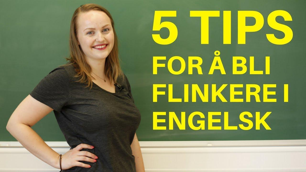 5 tips for å bli bedre i engelsk | Lær engelsk hver dag