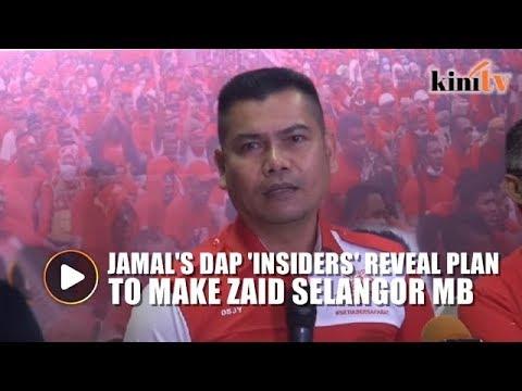 DAP plans to make Zaid Ibrahim next S'gor MB, says Jamal
