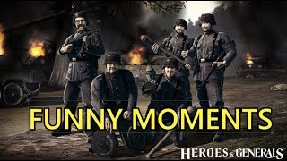 Heroes and Generals Funny Moments (#1)