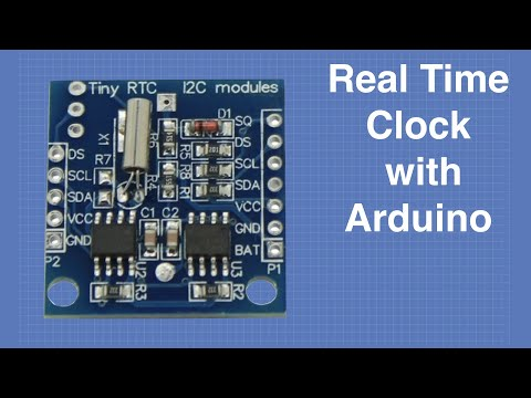 Arduino Real Time Clock - Using the Tiny RTC
