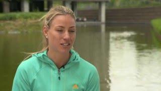 Angelique Kerber   Mutua Madrid Open Pre-Tournament Interview