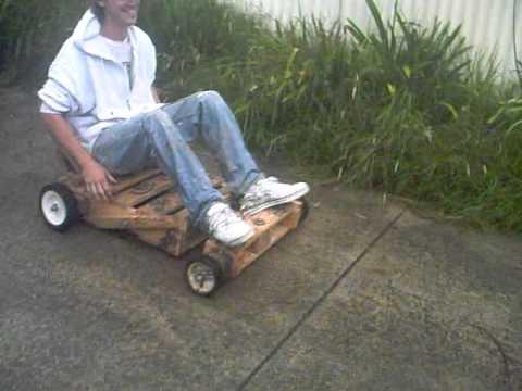 Downhill Homemade Billy Kart Gopro Hero 3