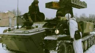 Russian army Airborne Force gets new air defense missile system Strela-10M3 RIA Novosti.flv