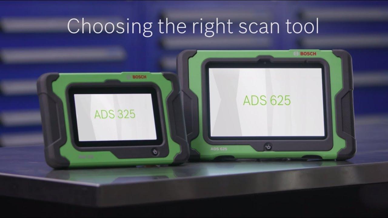 ADS 325 Diagnostic Scan Tool | Bosch Diagnostics